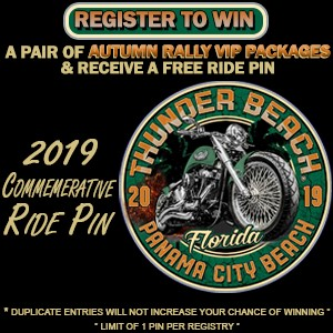 , Official Thunder Beach Ride Pin!